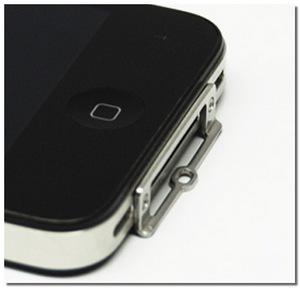 iPhone4用 ストラップ根付(NETSUKE)
